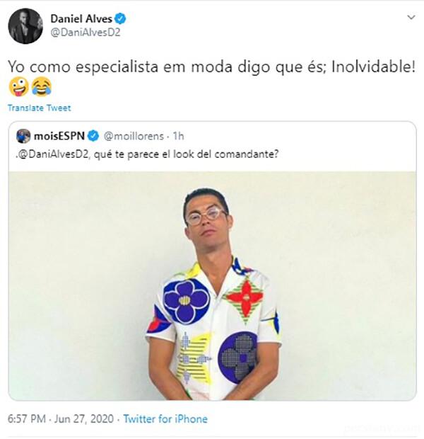 تیپ کریس رونالدو