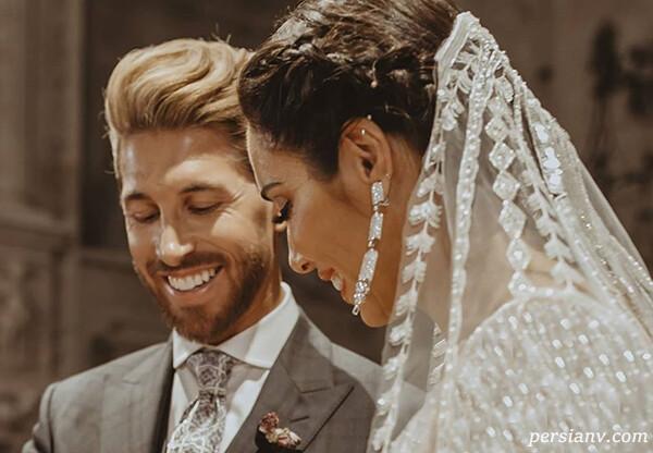 سالگرد ازدواج سرخیو راموس