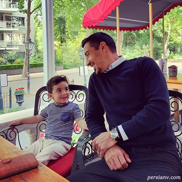 آقای فوتبالیست و پسرش