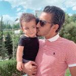 رضا قوچان نژاد و همسرش با عاشقانه های آرام در یک روز زیبا
