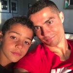 پسر کریس رونالدو به وقت تولد ۱۰ سالگی با یک هدیه ویژه
