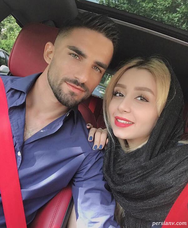 میلاد محمدی و همسرش