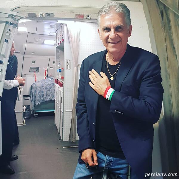 کارلوس کیروش در ایران