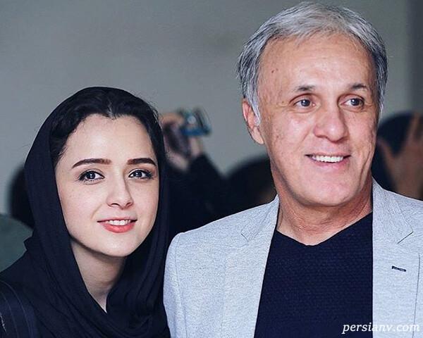 حمید علیدوستی و دخترش ترانه را در ۳۸ سال پیش ببینید