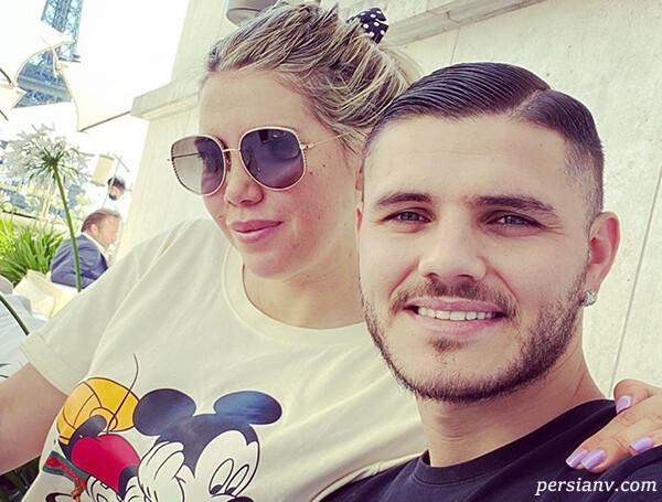 ایکاردی و همسرش میزبان ستارگان پاری سن ژرمن در خانه جدید