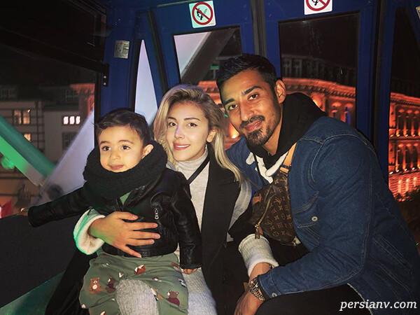 عکس های رضا قوچان نژاد با همسر و پسرش و گفتگویی متفاوت با وی