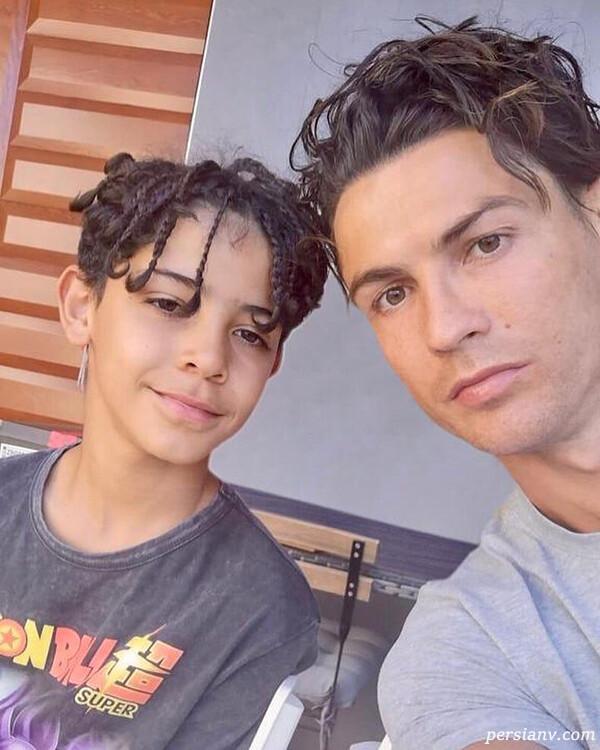 پسر کریستیانو رونالدو