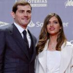 ایکر کاسیاس و همسرش سارا کاربونرو در مادرید