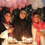 جشن تولد لاکچری الهه منصوریان و خواهرش سهیلا