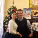 خانواده استراماچونی در آستانه سال جدید میلادی با تم قرمز