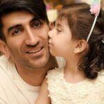 طبیعت گردی علیرضا بیرانوند با فرزندانش در روز تولد دخترش