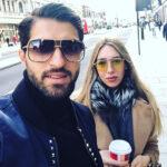 تولد دختر کریم انصاری فرد مهاجم ایرانی در کنار همسر یونانی اش