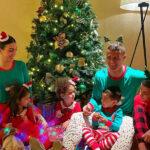 شام لاکچری کریستیانو رونالدو با خانواده اش در شب سال نو