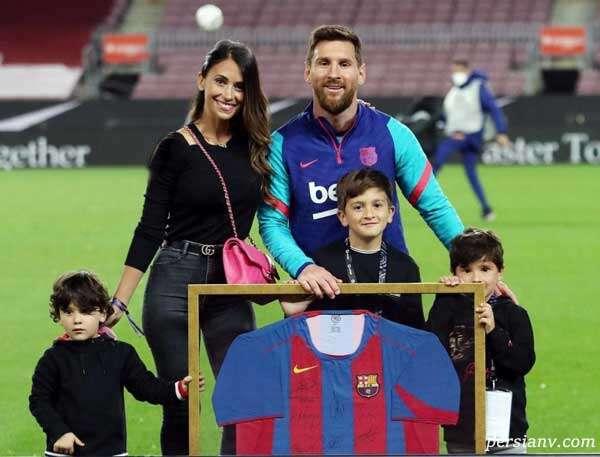 مهمانی لیونل مسی برای ستاره های بارسلونا در خانه اش