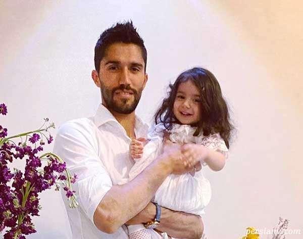 دروازه بان استقلالی ها حسین حسینی و دخترش مانلی