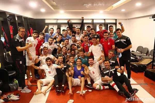 واکنش ها به پیروزی تیم ملی فوتبال از چهره های هنری تا ورزشکاران