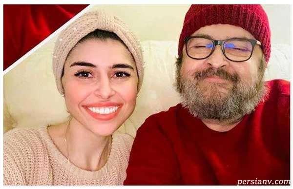حمیدرضا صدر و دخترش