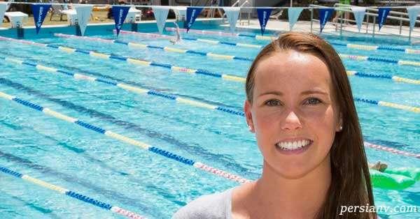 شناگر زن