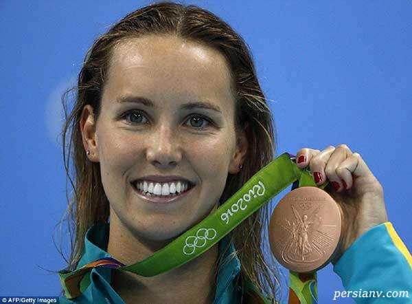شناگر زن استرالیایی با کسب ۷ مدال طلا و برنز در المپیک توکیو