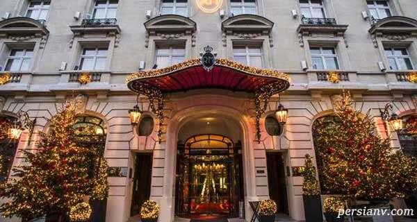 هتل اقامت لیونل مسی در پاریس