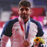 محمدهادی ساروی با نشان برنز المپیک از سکوی آبی تا سکوی المپیک