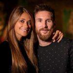اوین عکس عاشقانه لیونل مسی با همسرش در پاریس
