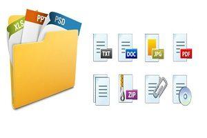 فرمت فایل ها در ویندوز ۱۰ چگونه نمایش داده میشود؟