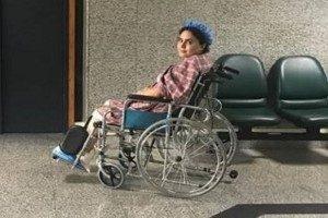 چرا الناز شاکردوست از بیمارستان مرخص شد و بلافاصله شروع به کار کرد؟