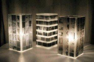 چراغ خواب خلاقانه | آموزش درست کردن چراغ خواب با نگاتیو