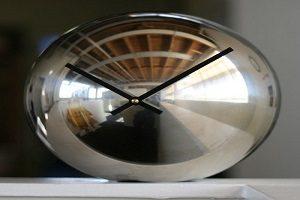 ساعت رومیزی توپی| آموزش درست کردن ساعت رومیزی با توپ فلزی