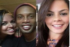 جنجال ازدواج عجیب و همزمان رونالدینیو با دو دختر برزیلی!!