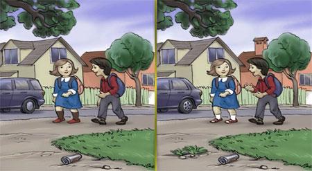 تست هوش تصویری تفاوت ها را بیابید 3
