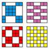 تست هوش جالب هم پوشانی مربع ها