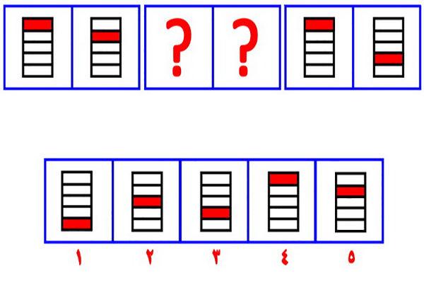 تست هوش منطق سری شکل ها