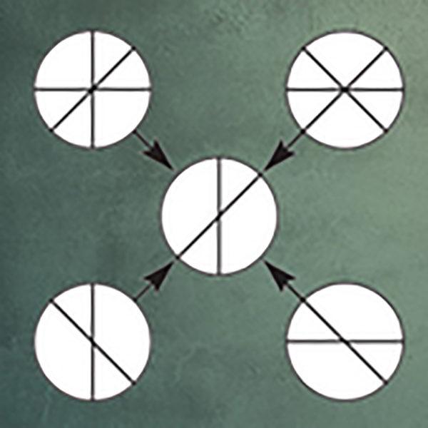 تست هوش | دایره های علامت گذاری شده!