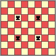 معمای شطرنج   مربع های بی رخ (5)