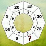 تست هوش   هشت ضلعی و عدد جایگزین