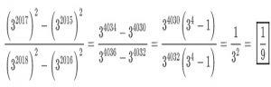 معمای ریاضی محاسبه حاصل کسر