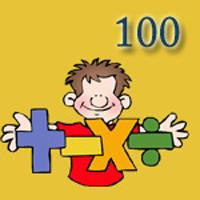معمای ریاضی   ۱ چهار تا ۷ و عدد ۱۰۰!
