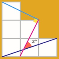 معمای ریاضی   زاویه مجهول
