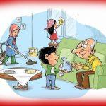 اس ام اس خنده دار خانه تکانی عید نوروز