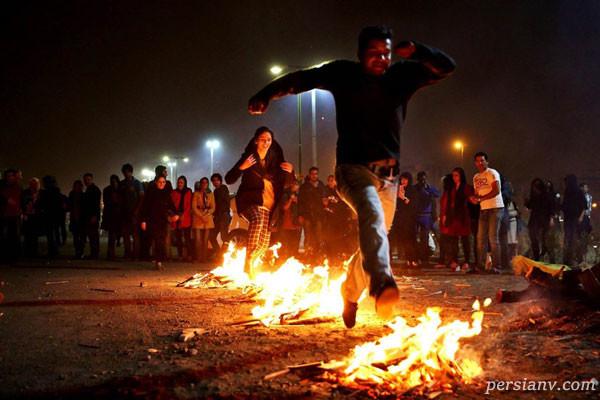 تفریحات چهارشنبه سوری