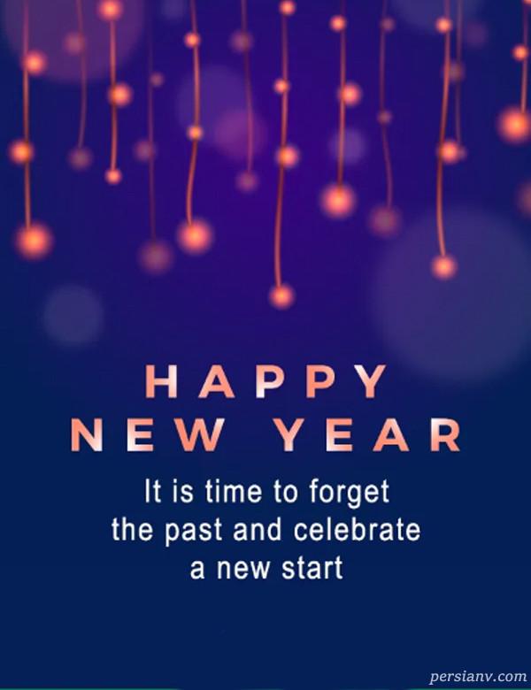 کارت پستال تبریک سال نو
