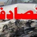 تصاویری از مچاله شدن پراید در تصادف مرگبار با خاور!