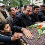 تشییع پیکر نقی سیفجمالی با حضور هنرمندان مشهور +تصاویر