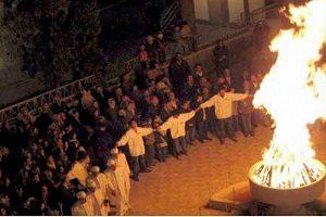 رسم و رسوم جالب در جشن چهارشنبهسوری ایرانیها