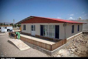 ساخت خانه های مدرن برای زلزله زدگان توسط سپاه