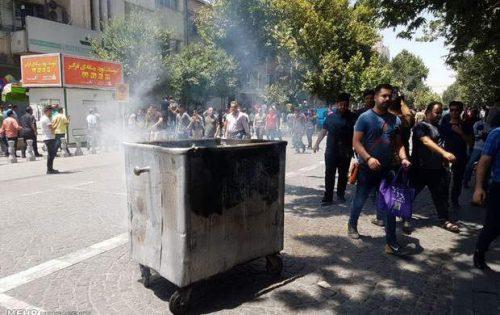 ناآرامی های بازار تهران