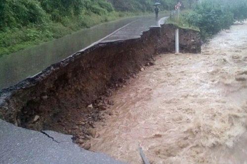 خسارات سیل شمال