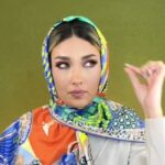 چگونه با روسری شیک و زیبا باشید